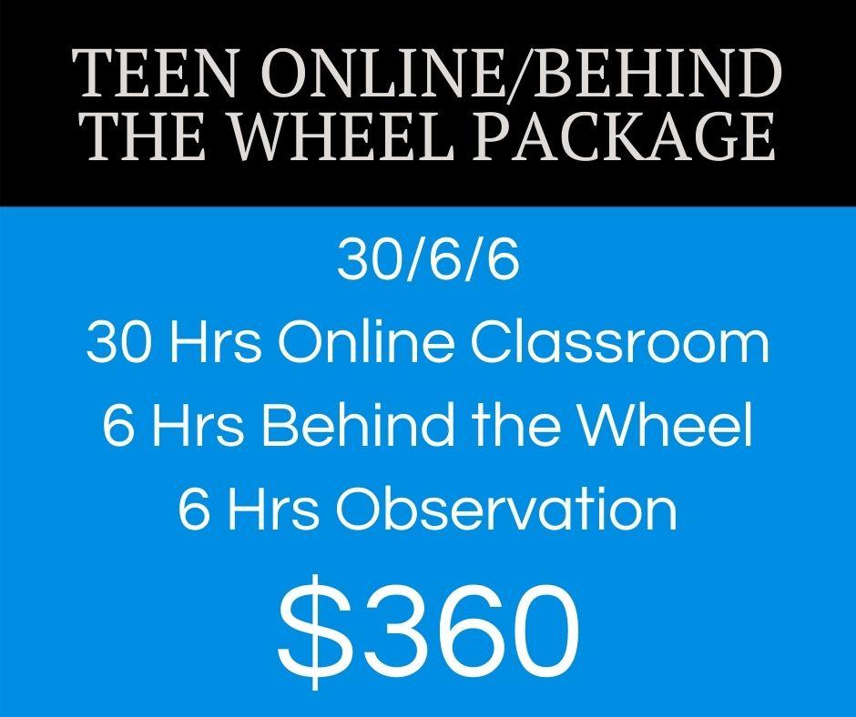 teen online btw driving course